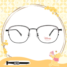 Disney-粉萌季 l 相親相愛奇奇蒂蒂 眉框眼鏡 透黑色