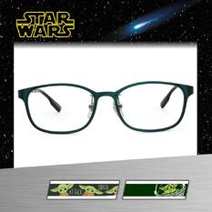 Star Wars:尤達寶寶 橢圓框眼鏡︱霧綠