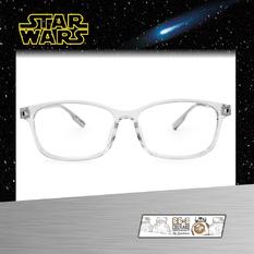 Star Wars:手繪機器人BB-8 長方框眼鏡︱透明