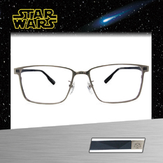 Star Wars:風暴兵盔甲 長方框眼鏡︱鋼銀/藍