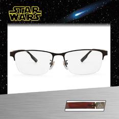 Star Wars:黑武士盔甲 長方眉框眼鏡︱棕銅