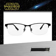 Star Wars:黑武士盔甲 長方眉框眼鏡︱石黑