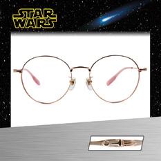Star Wars:X-WING X翼戰機 圓框眼鏡︱粉金