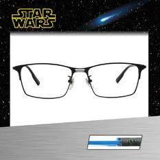 Star Wars:反抗軍同盟(REBEL ALLIANCE)徽章 長方框眼鏡︱霧黑