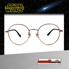 Star Wars:黑暗勢力紅光劍 圓框眼鏡︱亮金