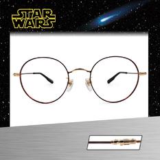 Star Wars:原力光劍 黑武士 圓框眼鏡︱紅金