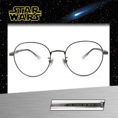 Star Wars:原力 波士頓框眼鏡︱黑灰