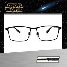 Star Wars:原力光劍 尤達 長方框眼鏡︱黯藍