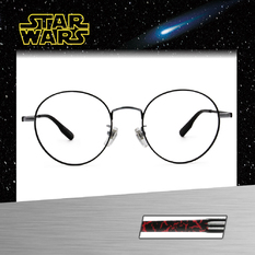 Star Wars:Kylo Ren凱羅·忍 圓框眼鏡︱亮銀