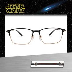 Star Wars:黑暗勢力 黑武士 長方眉框眼鏡︱黑金