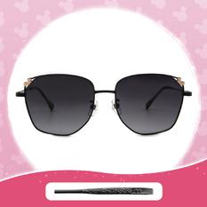 Disney 米奇│土耳其熱氣球 多邊框墨鏡 街頭黑 (小框款)