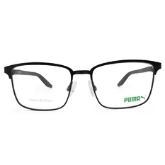 PUMA l 熱情學院 方框眼鏡 l 炫酷黑