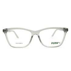 PUMA l 極致潮流 方型眼鏡 l 透灰