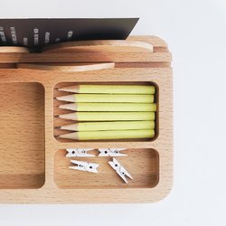TOSMU 童心木|木製小物眼鏡收納盤 - 山溫暖