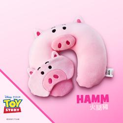 頸枕眼罩組 | 玩具總動員系列-火腿豬