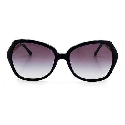 BURBERRY 摩登優雅蝶型款眼鏡墨鏡 黑色 (BE4193F-30018G)