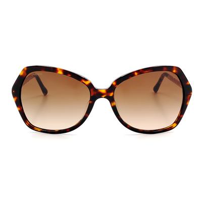 BURBERRY 摩登優雅蝶型款眼鏡墨鏡 玳瑁色  (BE4193F-300213)