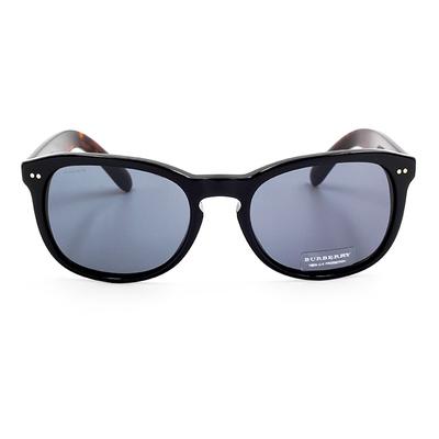 BURBERRY 質感奢華渲染款墨鏡 低調黑/灰色鏡片 (BE4214F-355487)