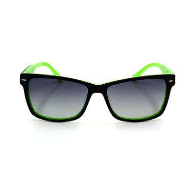 HORIEN 百老匯造型鉚釘時尚方框墨鏡  流線綠 (N6232-P08)