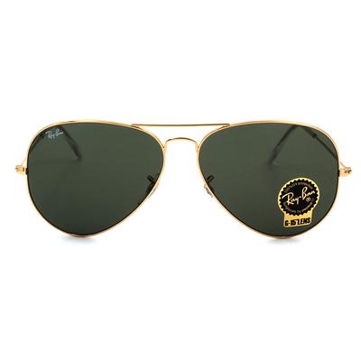 Ray Ban 傳奇不朽經典飛官 太陽的後裔宋仲基同款墨鏡大框墨鏡  日耀金 (3026-L2846)