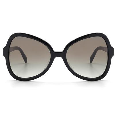 PRADA 纖細典雅線條蝴蝶結框墨鏡  燕尾黑 (PR05SSF-1AB0A7)