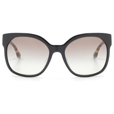 PRADA 義式雙色威靈頓大框墨鏡  迷戀黑 (PR10RSF-1AB0A7)