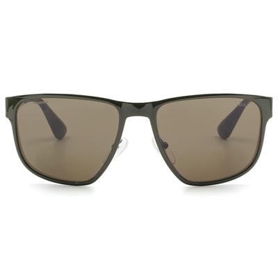 PRADA 義式美學雅痞花樣款墨鏡 橄欖綠迷彩 (PR55SS-UF44J1)