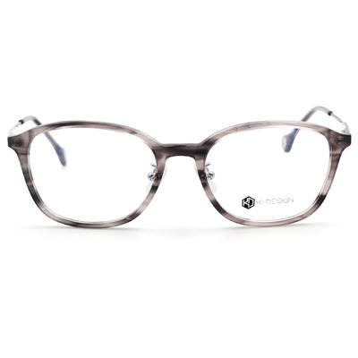 K-Design  17年設計師指定款眼鏡-城市工業風眼鏡 石紋灰 (KD2-1511-2-1-53)