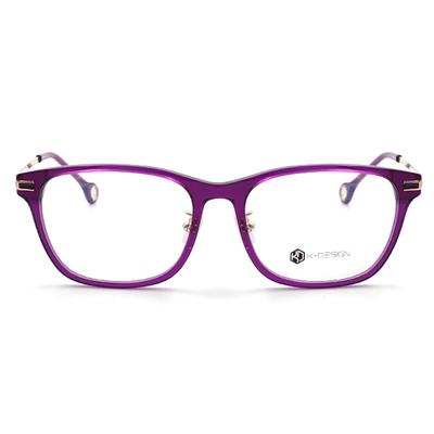 K-Design  17年設計師指定款眼鏡-夜漫天空步道 暗戀紫 (KD2-1515-2-2-54)