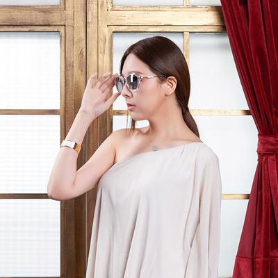 HORIEN 飾徽-五角星芒沁透款墨鏡 穿透白 (N6203-P16)