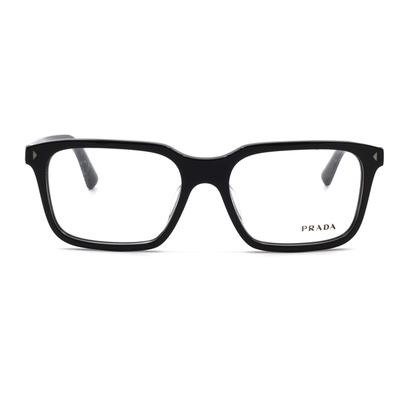 PRADA 風眼鏡靡亞洲必敗簡約款眼鏡 威靈頓框眼鏡 柔情黑 (PR04RVF-1AB1O1-54)