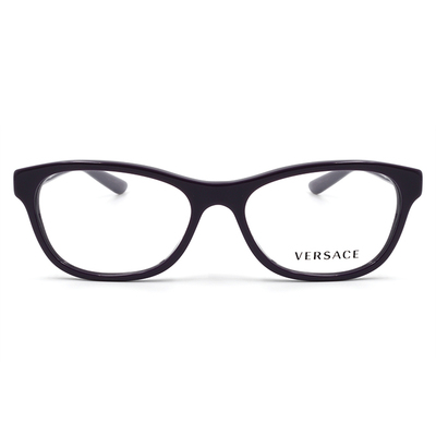 VERSACE 埃及古紋瑰麗水鑽款眼鏡 魅靓紫 (VE3212BA-5064-54)