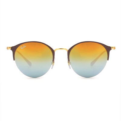 Ray Ban 韓潮眉框眼鏡墨鏡 款眼鏡墨鏡 ▏星砂粉 (3578-9011A7)