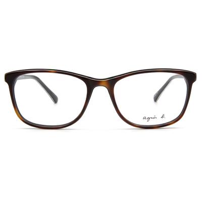 agnès b. 濃情雙層色款 ▏蜜糖棕/亮黑(ABP-246-Y18)