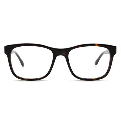 agnès b. 經典箭頭 輕透雙色框眼鏡 ▏玳瑁棕(60006-C02-53)