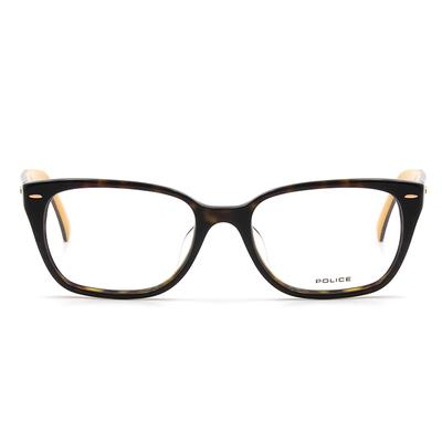 POLICE 韻律感眼鏡雙色框眼鏡 ▏玳瑁棕/駝色