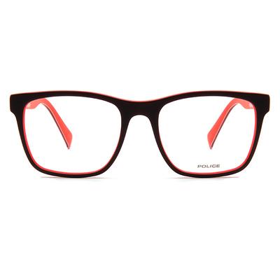 POLICE 美國旗面運動風眼鏡 ▏動力紅