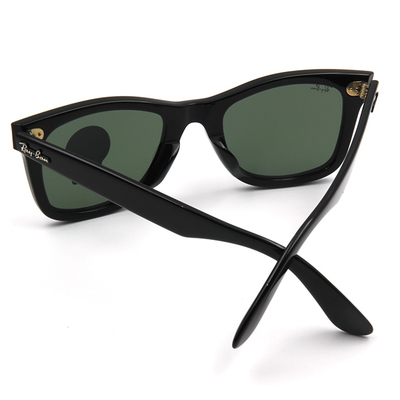 Ray Ban 劃時代永恆巨星款墨鏡 裘德洛同款墨鏡 ▏亮黑