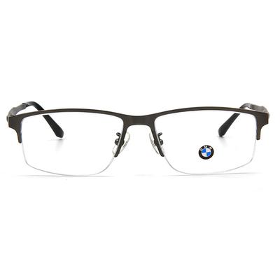 BMW 輕鈦光學眼鏡 工業點點 ▏霧槍/亮黑