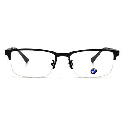 BMW 輕鈦光學眼鏡 微水滴 ▏霧黑
