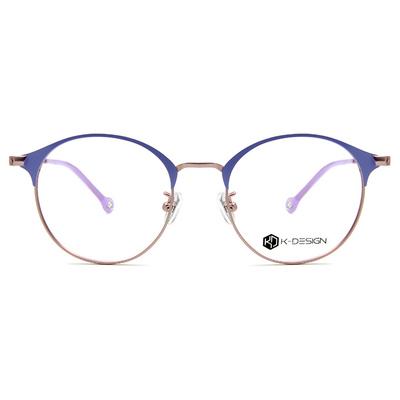 K-DESIGN K-POP系列 青春粉漾眉型框眼鏡-粉漾紫/霧粉