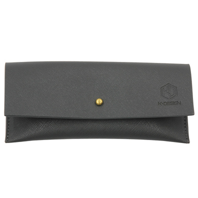 K-DESIGN K-POP馬卡龍眼鏡包 | 石墨灰