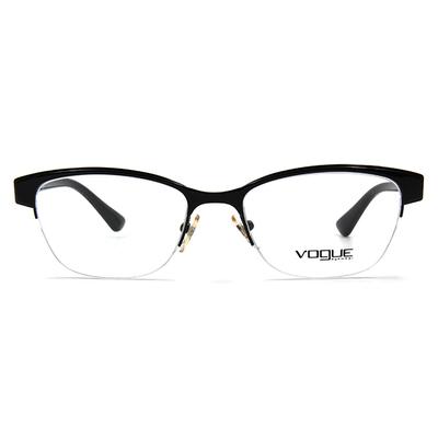 VOGUE 熱力摩登眉框眼鏡 ▏飄影黑