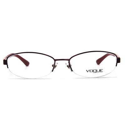 VOGUE 騰紋媚點眉框眼鏡 ▏葡萄紫