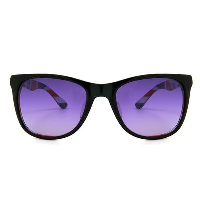 MINI 偏光太陽眼鏡 不朽英國微貓眼方框墨鏡 │亮黑