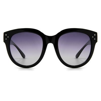 HORIEN 熱帶海洋潮粗框墨鏡 款墨鏡│亮黑