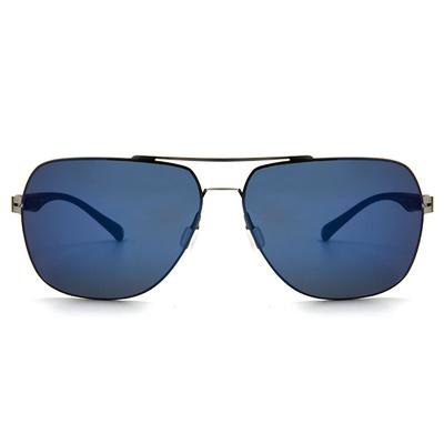 HORIEN 型男紳士款墨鏡方框墨鏡 │亮槍藍