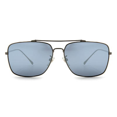 HORIEN 尊貴的品味飛官方框墨鏡 │槍藍