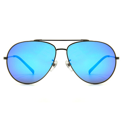 HORIEN 經典紳士飛官框墨鏡 │亮槍藍