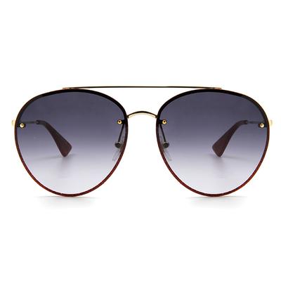GUCCI 春夏新款眼鏡墨鏡 浪漫摯愛星砂配色飛官框眼鏡墨鏡 ✦葡酒紅
